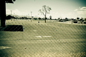 Las Vegas parking place
