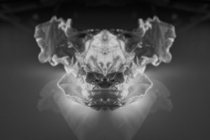 abstract photography Rorschach aesthetic