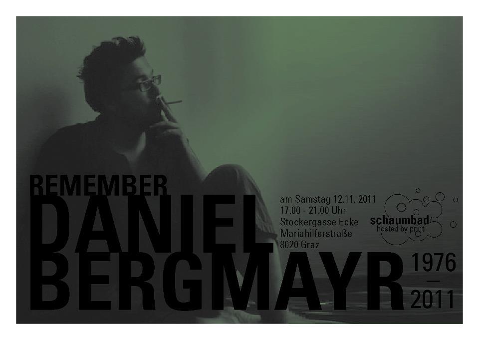 Announcement Daniel Bergmayr
