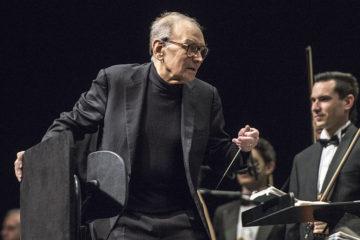 Ennio Morricone (2015) in der Festhalle Frankfurt.